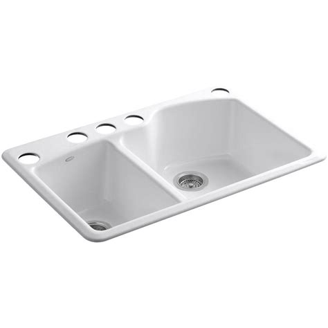 Kohler Wheatland Undermount Castiron 33 In 5hole Double. Island Kitchen Layout. White Kitchen Faucet. Pacific Kitchen Staten Island. White Kitchen Cabinets And Countertops. White Kitchen Tile. Bar Table For Small Kitchen. Red Kitchen Paint Ideas. White Kitchen Dining Sets