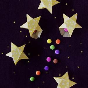 Origami Stern Falten Einfach : origami sterne 3d falten faltanleitung lichterkette ~ Watch28wear.com Haus und Dekorationen