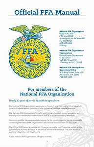 2016 Official Ffa Manual By National Ffa Organization