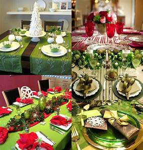 Decoration De Noel Rouge Et Vert