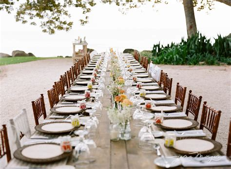 Wedding Trends: Farm Tables for Guest Dining at Your Wedding Reception
