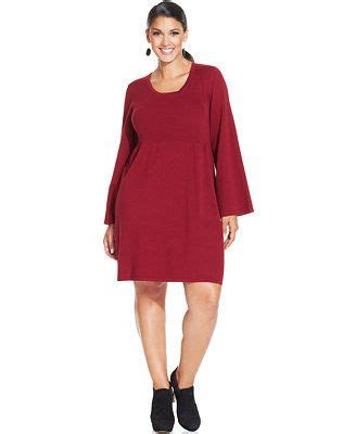 style and co sweaters style co plus size babydoll sweater dress indumentaria
