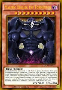 obelisk tormentor malefic yugioh yu gi oh cards alanmac95 card dragon slifer deviantart sky divine anime fan god effect drawings