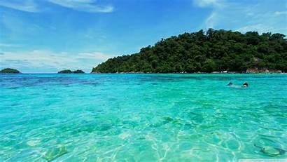 Sea Desktop Wallpapers Background 4k Travel Natural