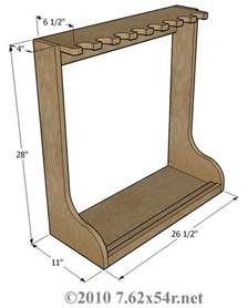 wood vertical gun rack plans free how to build an easy