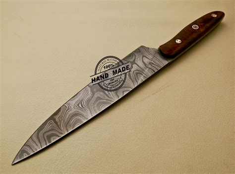 kitchen knives damascus kitchen knife custom handmade damascus kitchen