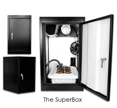 Hydro Closet by Supercloset Superbox 200watt Fully Automated Turnkey