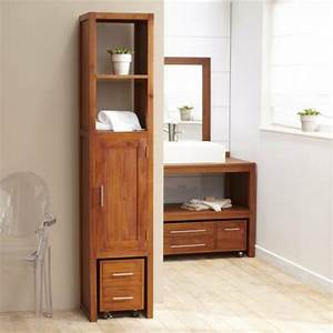 Meuble Rangement Salle De Bain But : super meuble de salle de bain la colonne de rangement ~ Dallasstarsshop.com Idées de Décoration