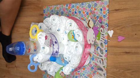 geschenke zur geburt basteln geschenke zur geburt windel torte basteln basteln deko turm oder torte aus windel