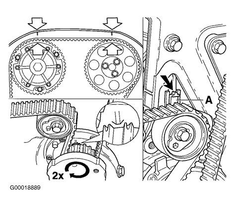 Engine Diagram 2001 Volvo S40 1 9 Turbo by Camshaft Timing Marks We Replaced The Valves On The Car