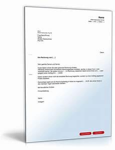 Laptop Auf Rechnung Für Neukunden : zur ckweisung rechnung f r mehrleistungen muster zum ~ Themetempest.com Abrechnung