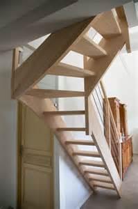 Escalier Sans Contremarche Quart Tournant by Escalier Bois Quart Tournant Inox 224 Hasparren 64 Vente