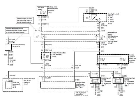 Collection Mustang Headlight Wiring Diagram Download