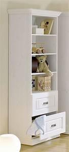 Kinderzimmer Regal Weiß : massivholz standregal odette wei regal kiefer massiv holz wei ~ Orissabook.com Haus und Dekorationen