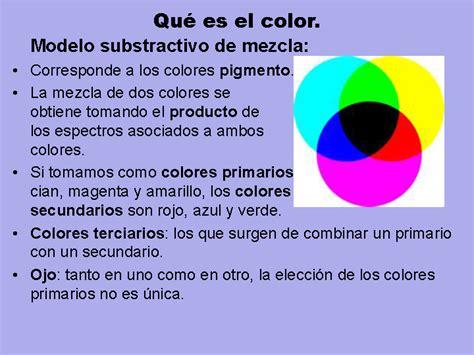 espacios y de color monografias