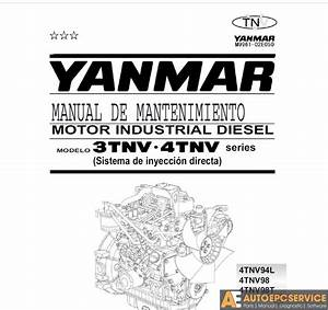 Yanmar Operation  U0026 Maintenance Manual  Service Manual
