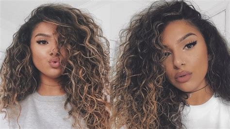 Big Curly Hair Tutorial / Routine