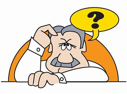 Cartoon Question Mark Clip Clipart Head Scratching