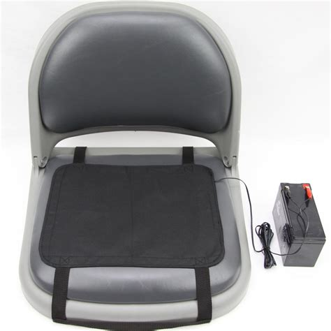 clam chair fishing seat clam 174 heated seat slip cover 173370 fishing gear at