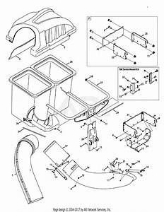 Mtd 19a30003oem Twin Rear Bagger  2011   19a30003000  2011  Parts Diagram For General Assembly