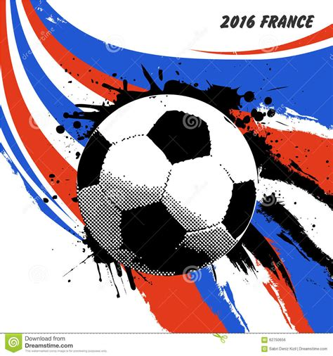 Gary neville tells the sky sports football euros podcast how he thinks england will fare at euro 2020, how transfer talk will affect harry kane and his tip for the title. Euro 2016 France football stock vector. Illustration of ...