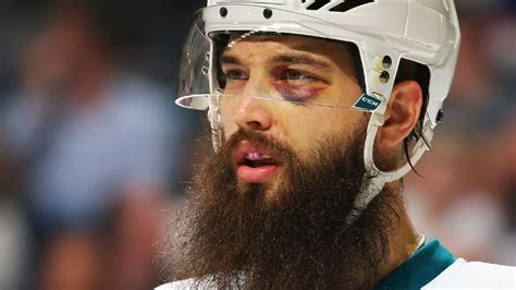nhl san jose sharks superstar defenseman brent burns