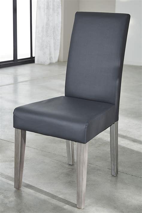 chaise de salle chaise namur gris