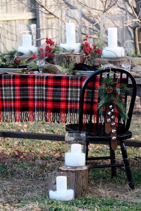 cozy plaid decor ideas  christmas digsdigs