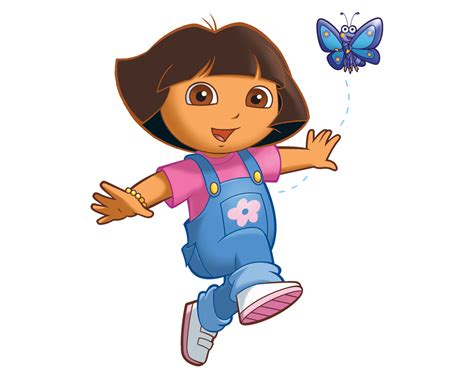 Cartoon Characters Dora The Explorer Png