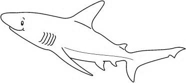 lemon shark coloring page collections