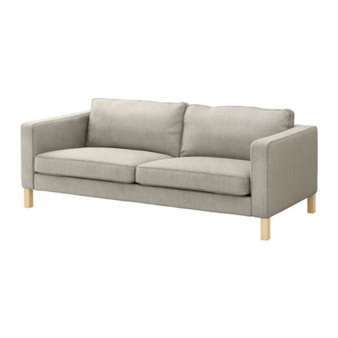 housse canape ikea karlstad karlstad canap 233 3 places ten 246 gris clair ikea