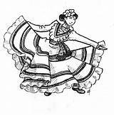 Coloring Dancer Mexican Flamenco Dancing Dancers Drawing Spanish Traditional Belly Clipart Dance Sheets Printable Deviantart Cartoons Adults Getdrawings Ballerina sketch template