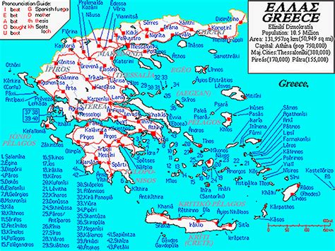 greek island ferry route  frequency chart