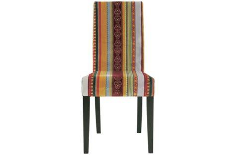 chaise multicolore chaise multicolore en tissu chaise design colorée