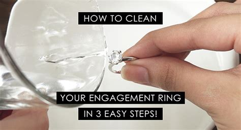 how to clean your engagement ring philippines wedding blog