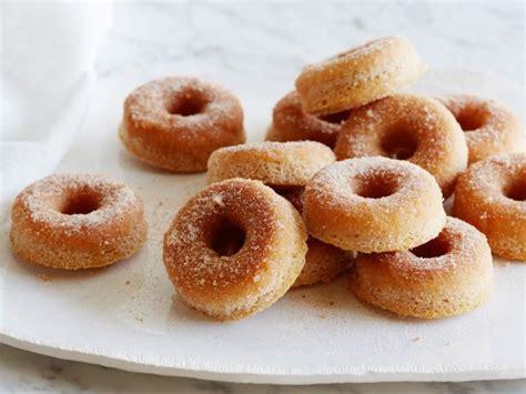 cinnamon baked doughnuts recipe ina garten food network