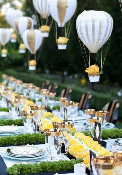 Cute Wedding Decorations by Air Balloon Inspired Decorations That Will Take You