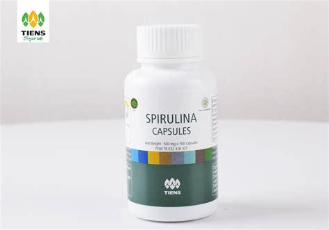 spirulina tiens ganggang hijau terbaik sumber protein