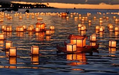 Lantern Lanterns Floating Festival Wallpapersafari