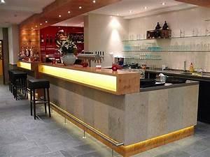 Bar theke bild von akzent hotel brauerei hirsch for Theke bar