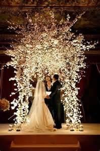 wedding altar decorations 30 winter wedding arches and altars to get inspired weddingomania