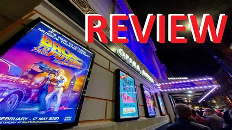 The opening exchange of classic 80s music, visuals, and electronic effects draws the audience in, in an instant and keeps them hooked from start to finish. Review BACK TO THE FUTURE Musical - Celebrity Radio By Alex Belfield