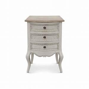 Chevet Pas Cher : table de chevet design 3 tiroirs beige vogue achat ~ Melissatoandfro.com Idées de Décoration
