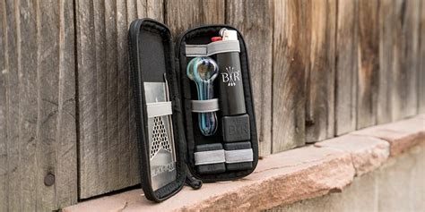 pipe travel kit smoking devices stealthy professional stylish cannabis traveling