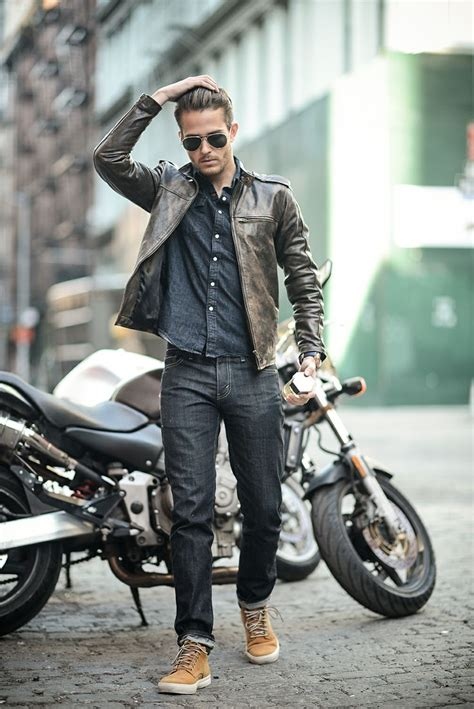 casual motorcycle ysl l 39 homme sport x i am galla fashion pinterest