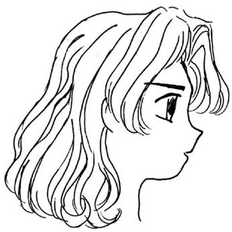short curly hair drawing  getdrawingscom
