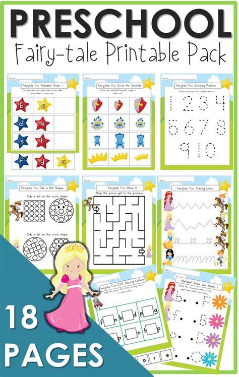 preschool tale printable the relaxed homeschool