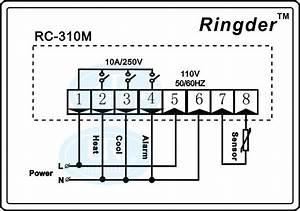 Ringder Rc-310m Digital Fahrenheit Thermostat Temperature Controller Price