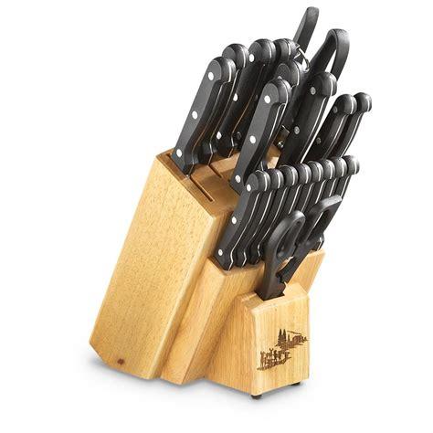 kitchen knives guide 21 pc sportsman 39 s knife set 619450 kitchen knives at