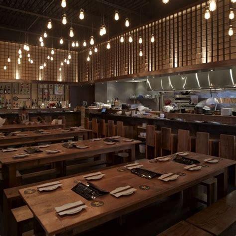 interiors cuisine small contemporary restaurant designs japanese